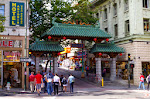Hier geht es in das Reich der Mitte: Chinatown