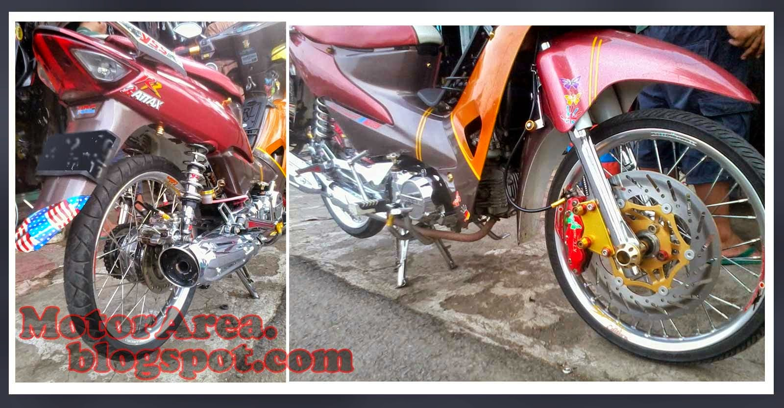 ide modifikasi motor supra fit 2006