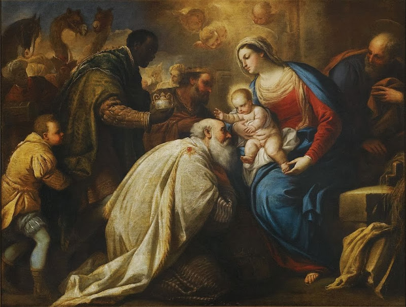 Luca Giordano - The Adoration of the Magi