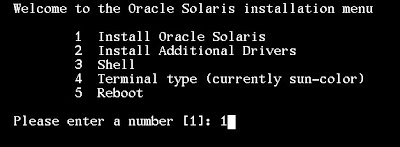 Instalar Oracle Solaris 11 SunOS Release 5.11 Version 11.0 64-bit OpenSolaris
