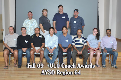 Fall 2009 U10 Coaches