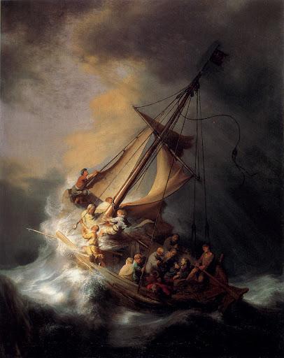 Rembrandt: Krist u oluji na Galilejskom moru