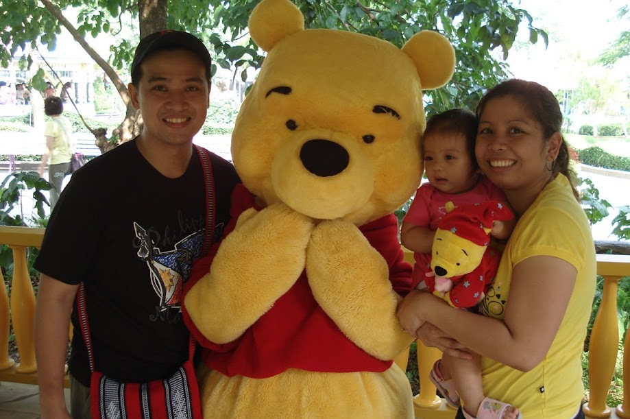PauTravels and Family with Winnie The Pooh