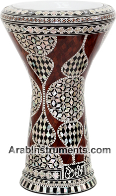 Brown Sombaty darbuka