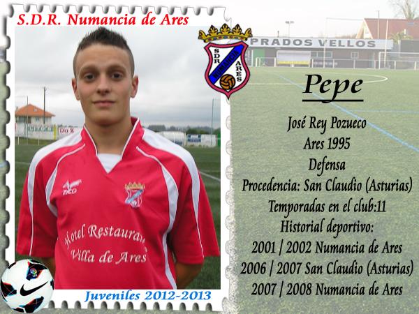 ADR Numancia de Ares. Pepe.