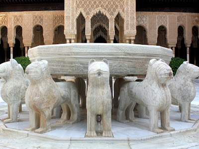 Lion Fountain at the Alhambra