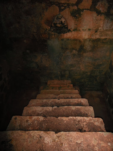 Interior de la tina de Castellar