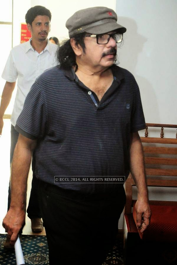 Soorya Krishnamoorthi during the premiere of Ennu Ninte Moideen, in Trivandrum.