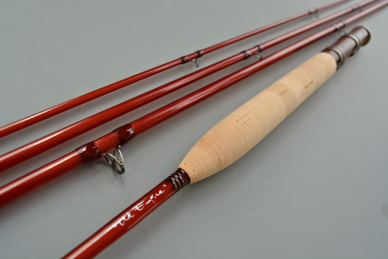 Fiberglass flyrodders unstructured glass fly rod series for Fishing rod blank