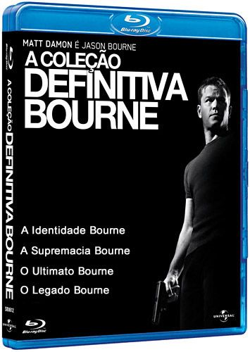 Download - Quadrilogia Bourne - BluRay 720p Dual Áudio