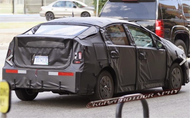 2016 Prius to Feature All-new Exterior Redesign | Spy Shots