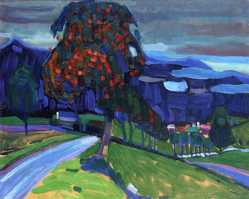 Wassily Kandinsky – Autumn in Murnau, 1908
