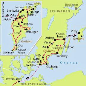 Gotland, Rundreise, Heideker Reisen, www.heideker.de, Schweden, Insel Gotland