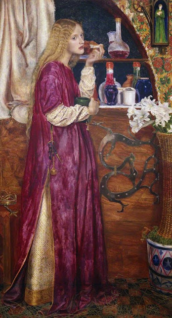 Valentine Cameron Prinsep - The Queen was in the Parlour