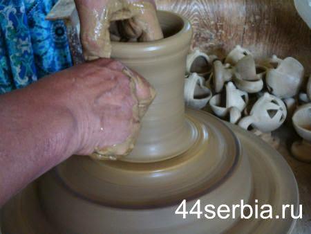 гончарный круг Сербия