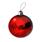 Pallina per l'albero di Natale