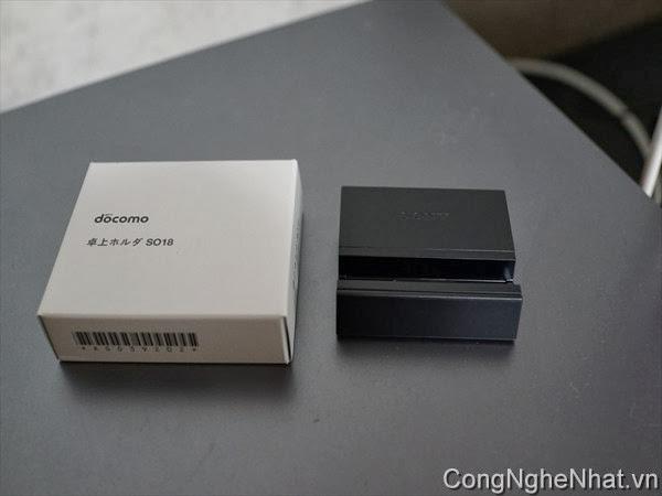 Dock sạc DK34 Sony Xperia Z1 (SO-01F) chính hãng Sony Nhật Bản
