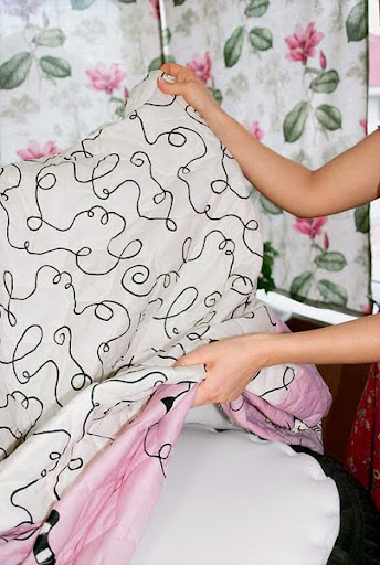 Capa de patchwork para cadeira