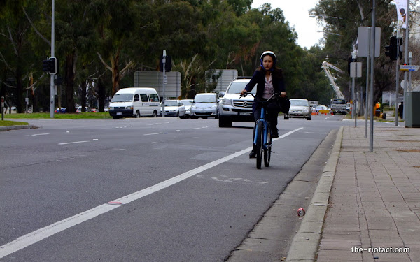 northbourne bike lanes