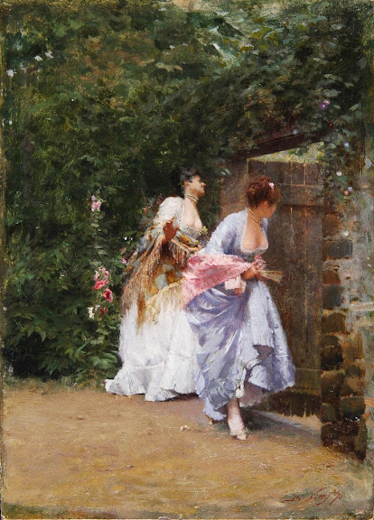 Giuseppe de Nittis - Return From The Ball