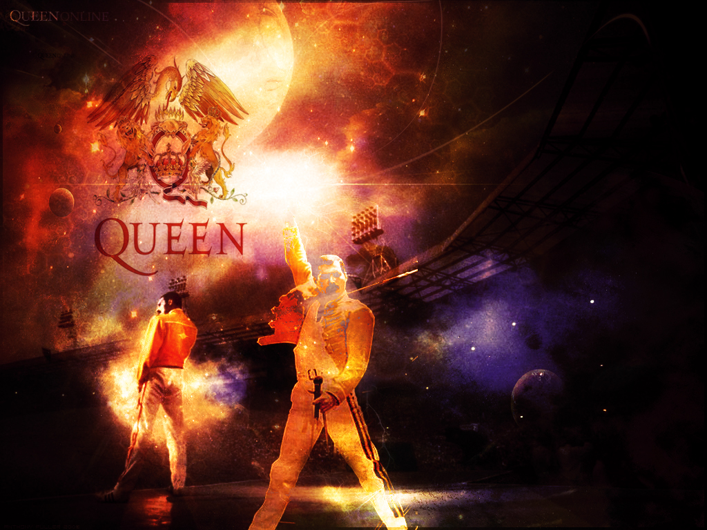 Rock Band Wallpapers The Greatest Band Quot Queen Quot Wallpaper
