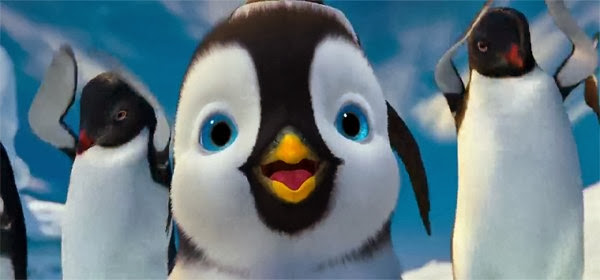 Screen Shot Of Hollywood Movie Happy Feet Two (2011) In Hindi English Full Movie Free Download And Watch Online at Alldownloads4u.Com