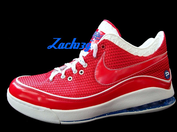 Nike LeBron VII Low 8220CSKA Moscow8221 Woven Sample