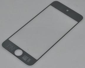 iPod touch第5世代の4.1型フロントパネル ブラック