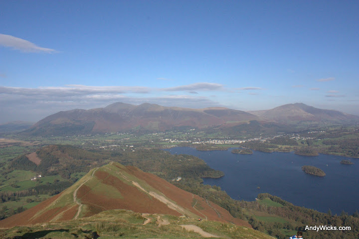 View from the top of Catbells