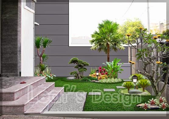 contoh gambar taman rumah mungil gallery taman minimalis