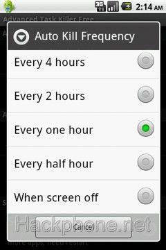 Advanced Task Killer Pro - Phần mềm quản lý ưng dụng chạy ngầm trên Android