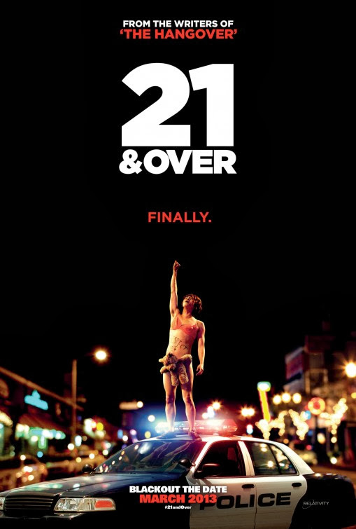 Poster Of English Movie 21 & Over (2013) Free Download Full New Hollywood Movie Watch Online At Alldownloads4u.Com
