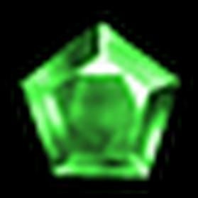 星芒綠寶石