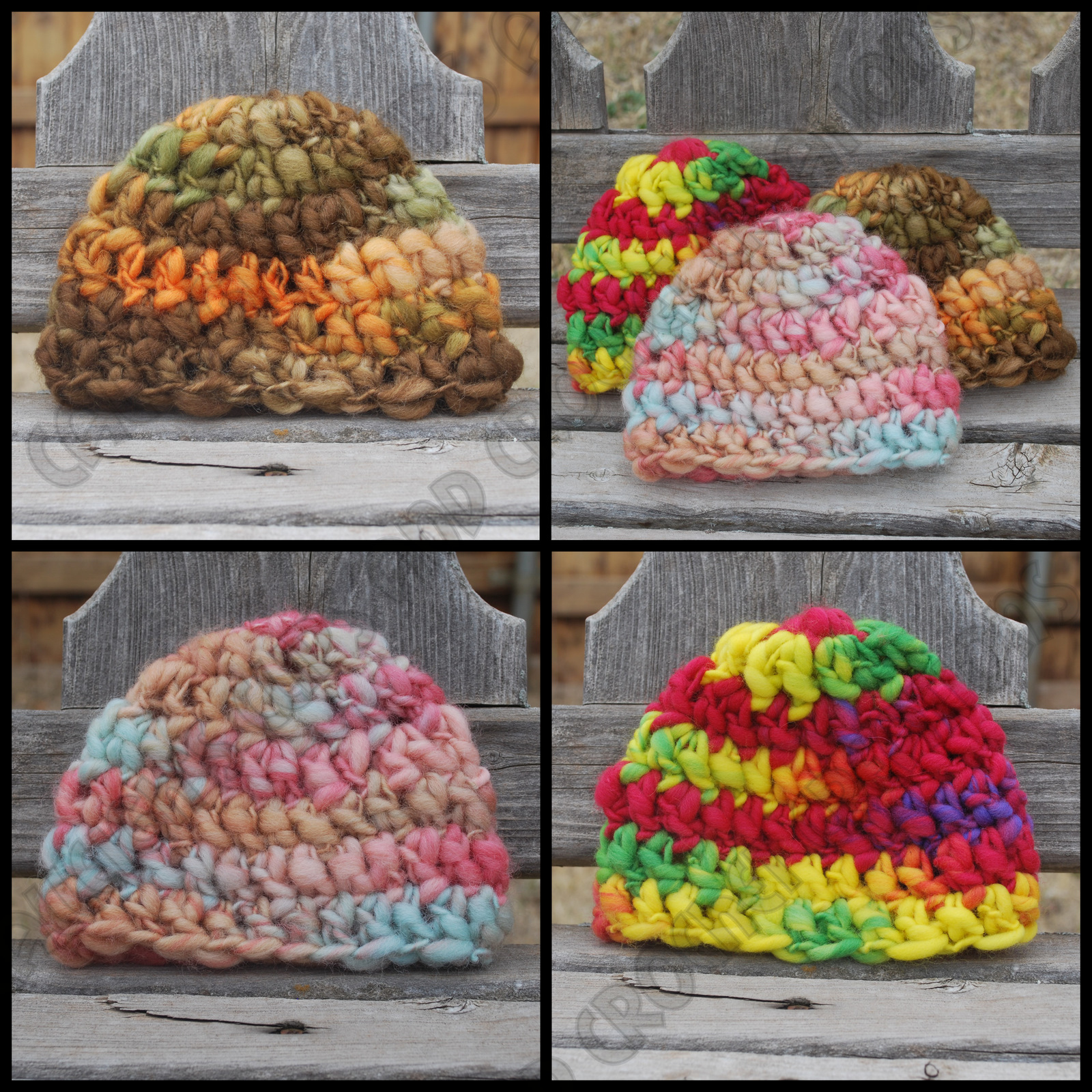 Calleigh\'s Clips & Crochet Creations: Thick and Thin Baby Beanie ...