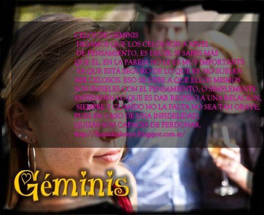 Como son los celos del signo Geminis