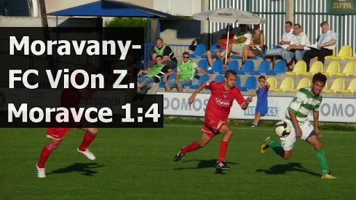 Moravany-FC ViOn Z.Moravce 1:4