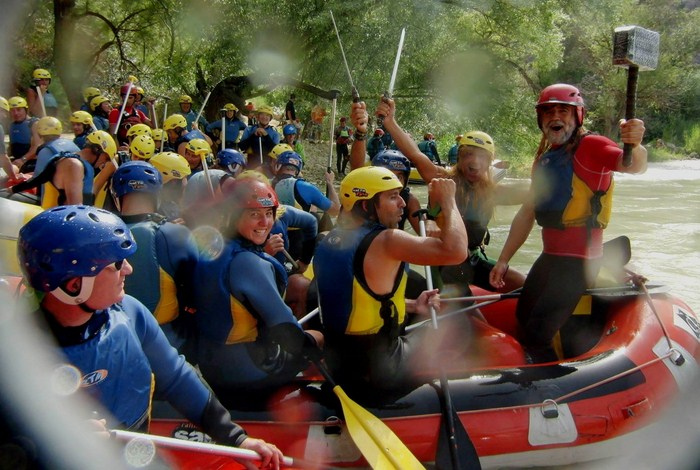 Rafting El Tejar - Palenciana