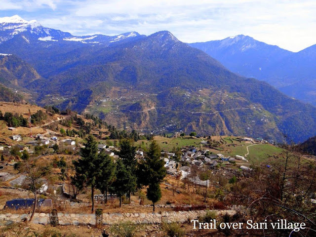 Trail Over Sari Village