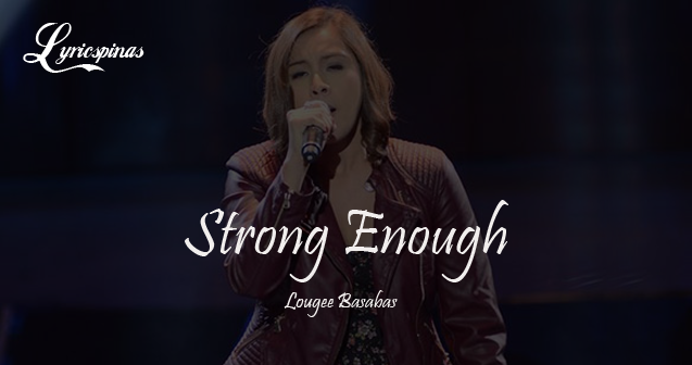 Lougee Basabas Strong Enough The Voice 2014