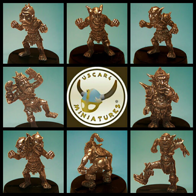 Goblins Blood Bowl Uscarl Miniatures