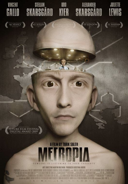 Poster Of English Movie Metropia (2009) Free Download Full New Hollywood Movie Watch Online At Alldownloads4u.Com