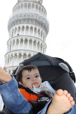 Guilherme em Pisa