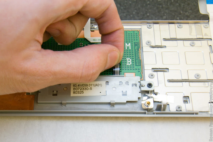 Как разобрать ноутбук Dell Inspiron 1525 30