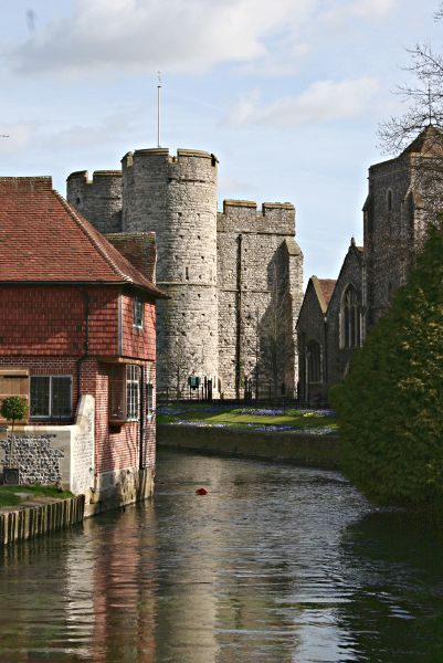 river stour and westgate canterbury