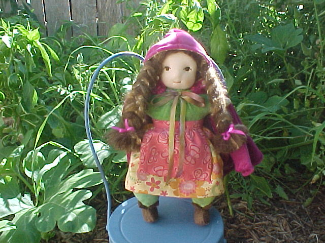 Red Riding Hood First Doll (Or Pink Riding Hood)