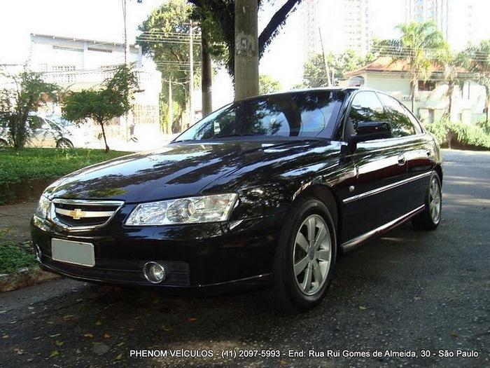 Chevrolet Omega 2004 Blindado - Preço R$ 33.500 - perfil