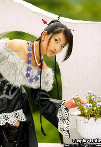 final fantasy x cosplay - lulu