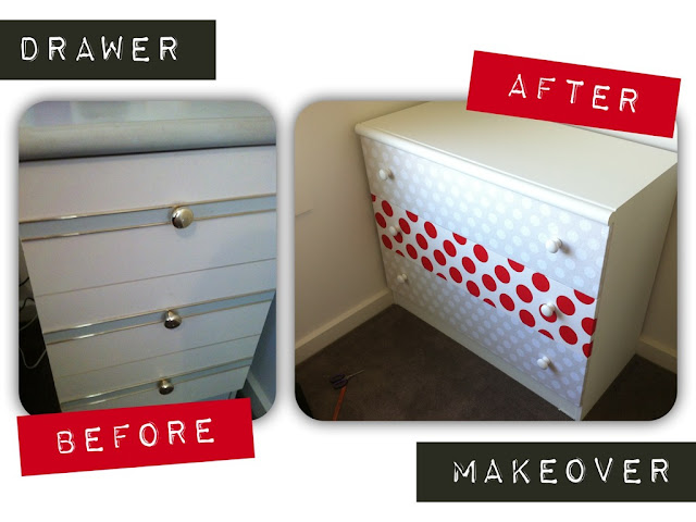 drawers before and after