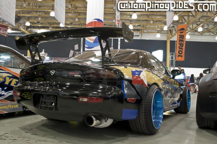 Mexiflush Autocraft Drift Norman Agojo Mazda RX-7 FD Custom Pinoy Rides pic2
