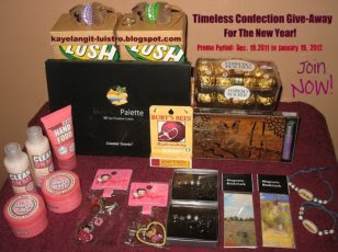 Timeless Confection Blog Give-Away For The New Year